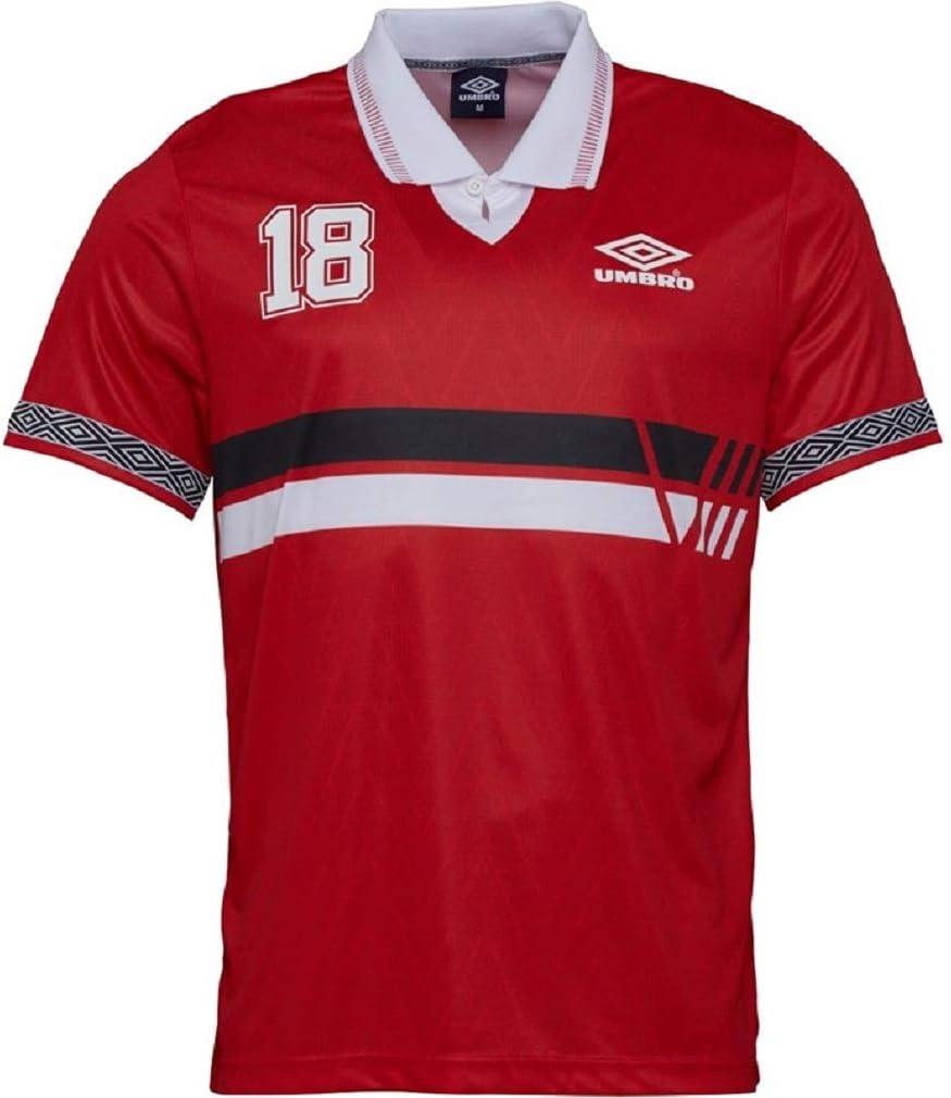 UMBRO Project Rusia - Polo para Hombre, Color Rojo, Rojo/Multi ...