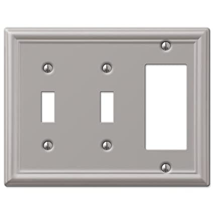 Double Toggle And Gfci Decora Rocker Wall Switch Plate Outlet Cover