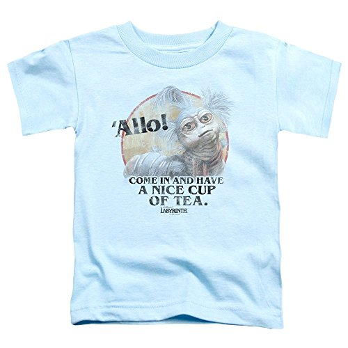Price comparison product image Labyrinth - Toddlers Tea T-Shirt, 3T, Light Blue