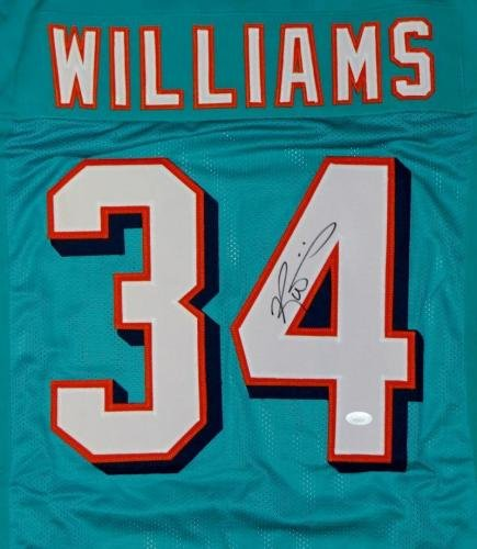 a5580fecf Signed Ricky Williams Jersey - Teal Pro Style W - JSA Certified -  Autographed NFL Jerseys at Amazon s Sports Collectibles Store