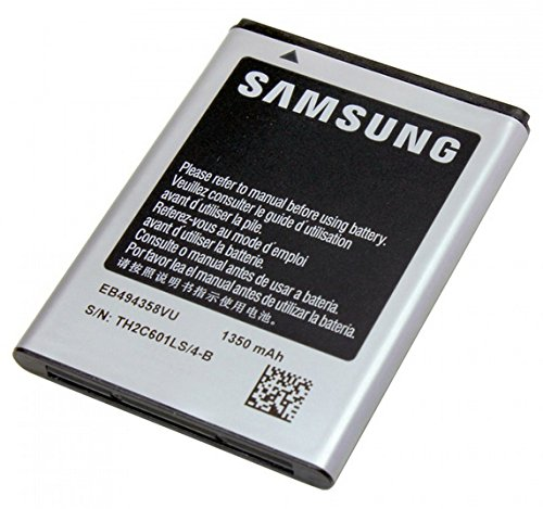 Samsung GT-EB494358VU Battery for ONLY the Galaxy Ace S5830 and Galaxy Gio GT-S5660 in Non-Retail Packaging - (Samsung Galaxy Ace S5830)