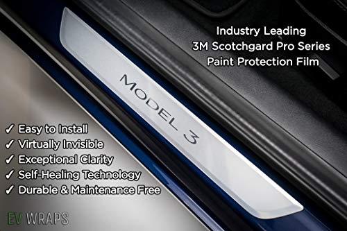 Tesla Model 3 Door Sill Protector - Clear