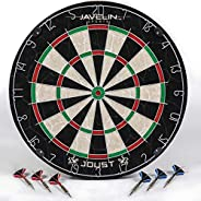 EastPoint Sports Bristle Dartboard Sets, Easy-to-Mount Board - Perfect for Family Game Room, basements, bar, M