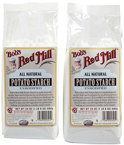 24 oz (1 lb 8 oz) 680 g Bob's Red Mill, Potato Starch Unmodified, Gluten Free (Pack of 2)