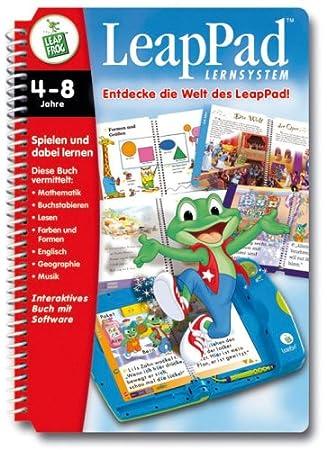 Leap Pad Leappad mit Starterset Lernbuch mit Musik und Sound leapfrog frog Kindercomputer Lernspielzeug