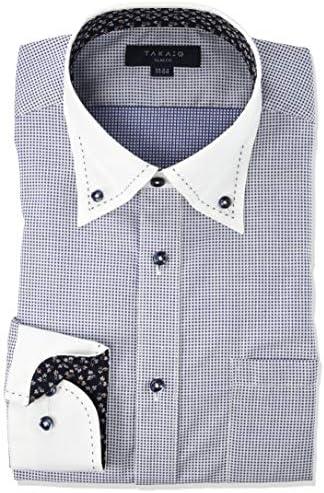 ワイシャツ 形態安定 スリムフィット 長袖 ビジネス シャツ メンズ