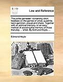 The Polite Gamester, Edmond Hoyle, 1140685945