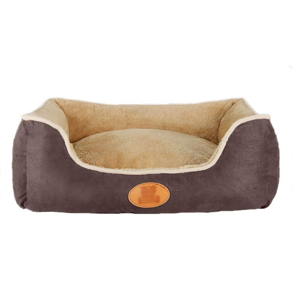 A 555020 A 555020 Pet house kennel Washable Small dog Medium dog Large dog pet bed Pet mat Four seasons available (color   A, Size   55  50  20)