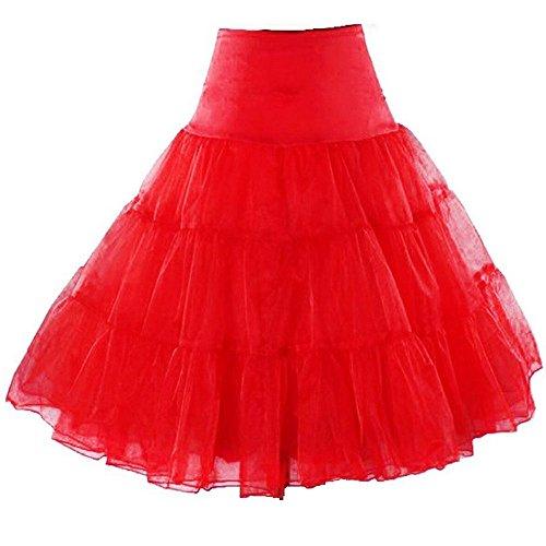 Petticoat Crinoline. Great petticoat skirt for poodle skirts, Petticoat dresses, Vintage dresses, or as Rockabilly Adult Tutu Skirt. 25