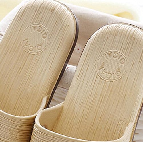 SUxian slip Size Brown Couple Light Bathroom Rosy Sandals Slippers Slippers Giraffe Slippers Non Couple 45 Soft soled Creative Summer Color RqrTR0