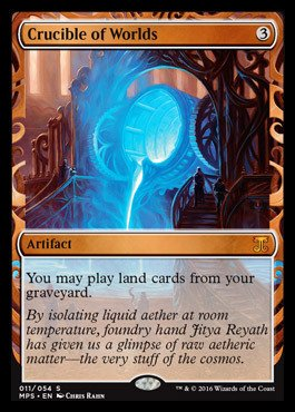 Magic: the Gathering - Crucible of Worlds (011/054) - Masterpiece Series: Kaladesh & Aether Revolt Inventions - Foil