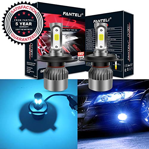 9003 headlight bulb led blue - 5
