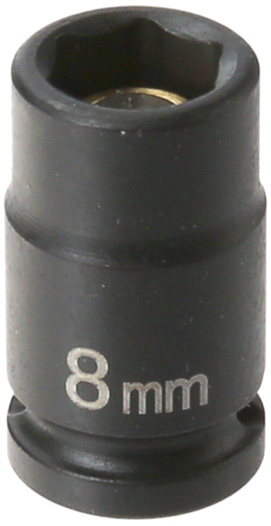 Grey Pneumatic 908UMS 1//4 Surface Drive x 8mm Standard Universal Socket