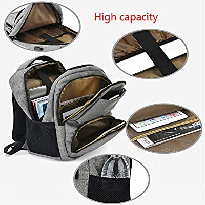 ZXL6 Backpack Leisure Fashion Travel Hiking Camping Mountaineering Rucksack Outdoor Men Women Sports School USB Student Luggage Bag Lightweight
