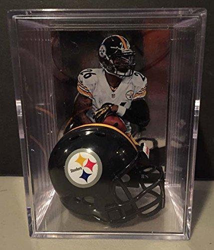 Pittsburgh Steelers NFL Helmet Shadowbox w/ Le'Veon Bell card
