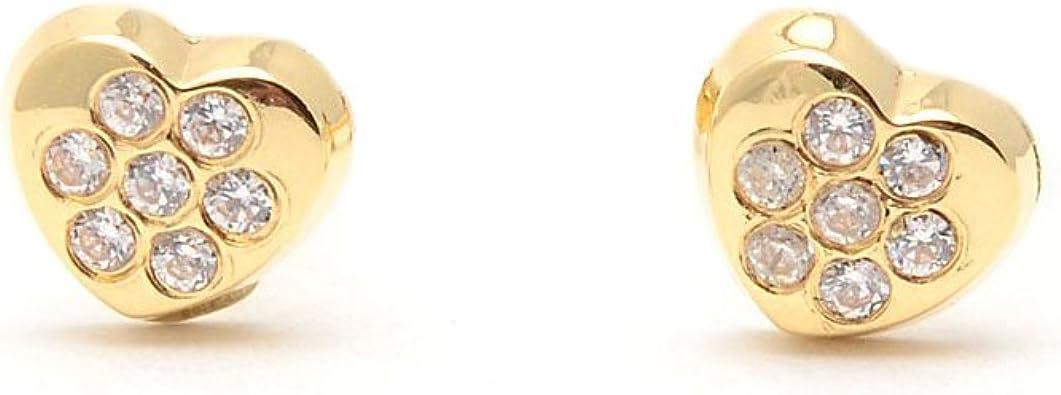Boucles dOreilles Enfant /él/éphant Or Jaune 9 Carats