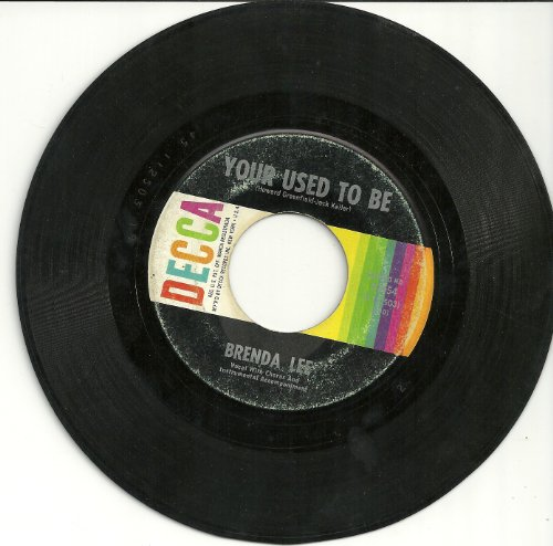 Your Used To Be/She'll Never Know (VG 45 rpm) (Keller Shell)