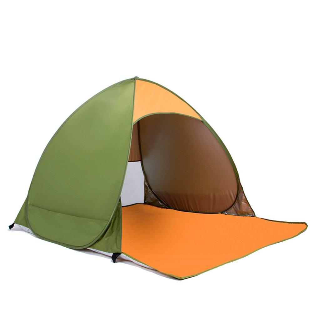 Sonne Schutz Strandzelt, Outdoor-2 Personen Zelt öffnen Schatten Wasserdichte Gepolsterte Zelt