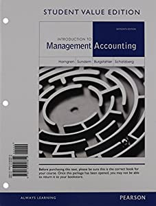 Charles t horngren books list of books by author charles t horngren introduction to management accounting student value edition plus new myaccountinglab with pearson etext fandeluxe Images