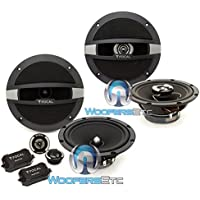 pkg Focal Auditor R-165S2 6.5 120W RMS 2-Way Component Speakers and Focal Auditor R-165C 6.5 120W RMS 2-Way Coaxial Speakers