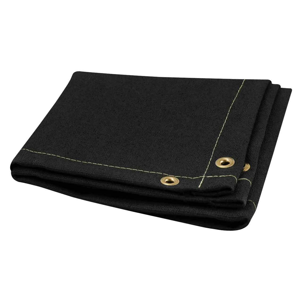 Steiner 376-6X8 Flex 28-Ounce Heavy Acrylic Coated Fiberglass Welding Blanket, Black, 6' x 8' 6' x 8' ERB