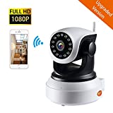 NexGadget Upgraded Version 1080P Security Wireless Indoor Surveillance Camera with Night Vision