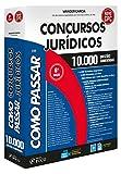 capa de Como Passar em Concursos Jurídicos. 10.000 Questões Comentadas