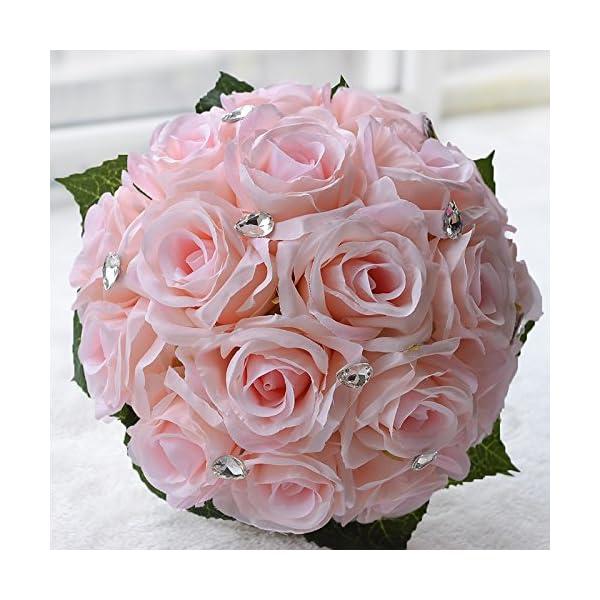 Abbie-Home-Bridal-Bouquet-Handmade-Wedding-Bouquets-Rose-Rhinestone-Bridal-Artificial-Silk-Flower