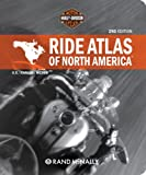 Harley Davidson Ride Atlas of North America, Not Available (NA), 0528939556