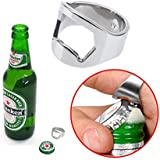 1PC Stainless Steel Finger Ring Bottle Opener Bar Beer Tool by CompassSur