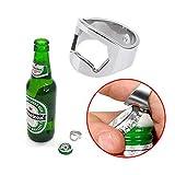 Stainless Steel Finger Ring Bottle Opener Bar Beer Tool // Dedo herramienta inoxidable botella anillo abridor bar de cerveza by Bml Review