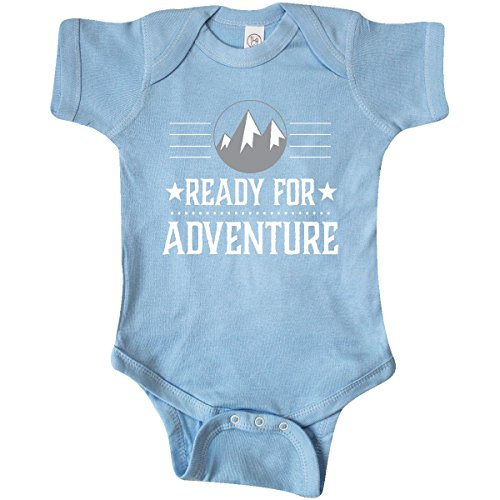 inktastic - Ready for Adventure Hiking Infant Creeper 6 Months Baby Blue 2ffdb by inktastic (Image #1)