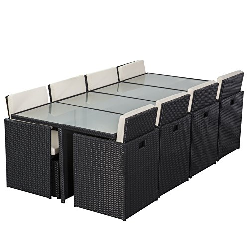 gartenm bel peru essgruppe braun 8 personen aluminium g nstig. Black Bedroom Furniture Sets. Home Design Ideas