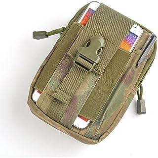 étanche travail D30tactique Molle Taille Sacs Fanny Lot Homme décontracté en nylon militaire Armée Petit sac (Ruine Camouflage) Hinmay