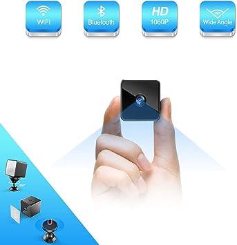 C/ámara esp/ía inal/ámbrica Oculta Bluetooth M/úsica Altavoz Vista remota a trav/és de la aplicaci/ón para tel/éfonos Inteligentes HD 1080P Wi-Fi Nanny CAM