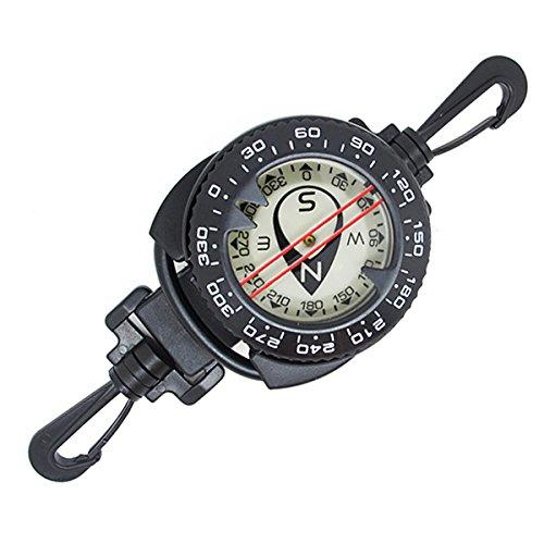 Scuba Choice Diving Dive Compass with Retractor Dive Compass