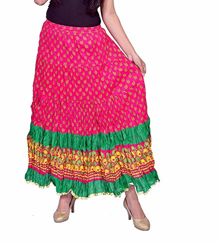 Handicrfats Women Skirt N2CREATIONS Indian Export Regular Printed dwzId7pq