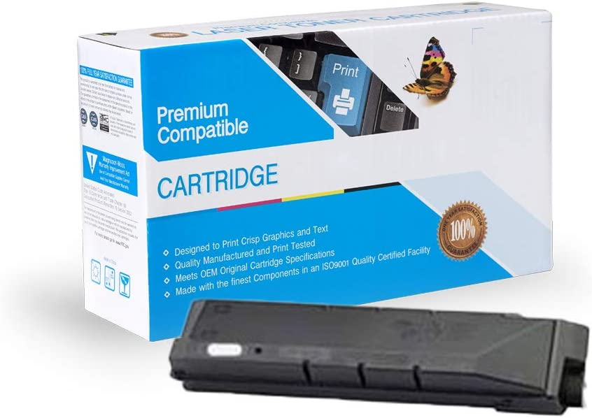 Black On-Site Laser Compatible Toner Replacement for Kyocera-Mita TK-8602K FS C8650DN Works with