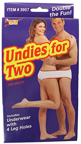 Forum Novelties Adult Undies for Two (Underwear with