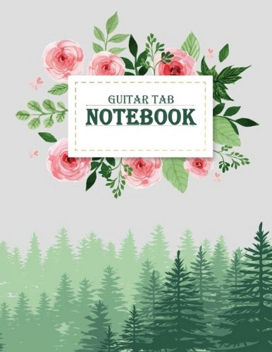 - Guitar Tab Notebook: Music Manuscript Paper,Staff Paper,Musicians Notebook,Blank Guitar Tab, Book Bound (Perfect Binding)  Paper 120 Pages Large Print 8.5