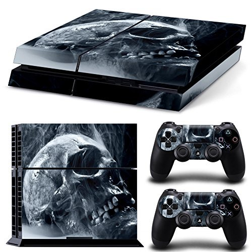 Price comparison product image Vinyl Decal Protective Skin Cover Sticker for Sony PS4 Console And 2 Dualshock Controllers 05