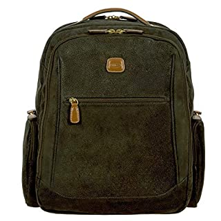 Bric's Life Executive Laptop|tablet Large Business Backpack, Olive