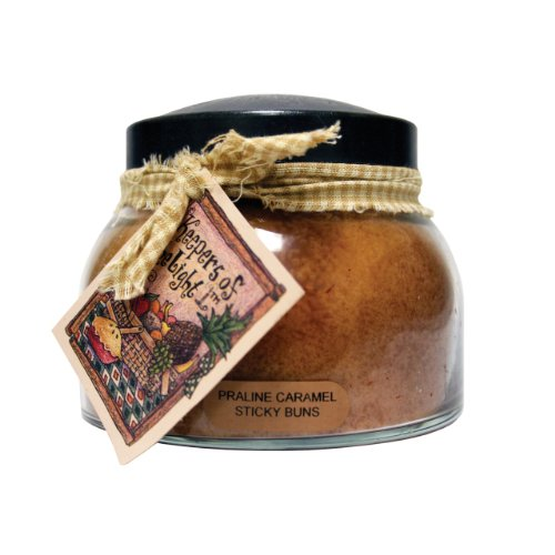 A Cheerful Giver Praline Caramel Sticky Buns Mama Jar Candle, 22-Ounce