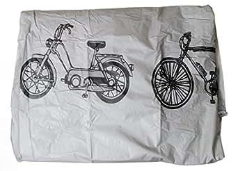 Filmer 200 x 110 - Bolsa para bicicletas, color plata, talla única
