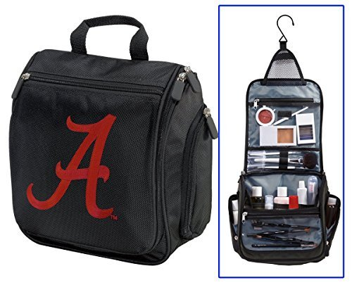 University of Alabama Toiletry Bag or Crimson Tide Shaving Kit Travel Bags by Broad - Alabama Mall Of University