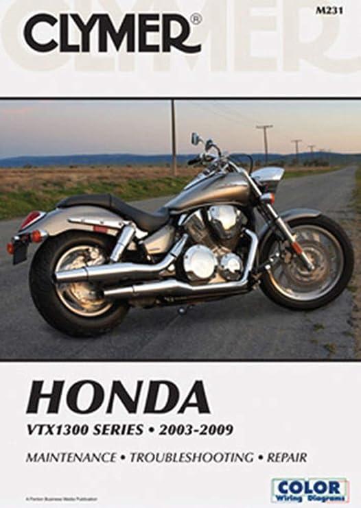 Amazon.com: Clymer Repair Manual for Honda VTX1300 C/R/S/T 03-09: AutomotiveAmazon.com