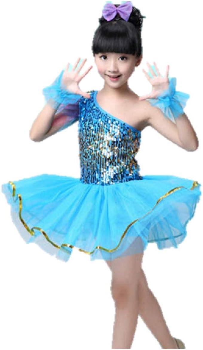 Girls Kids Leotards Unitard Dancewear Gymnastic Ballet Skating Dancing Age 3-15