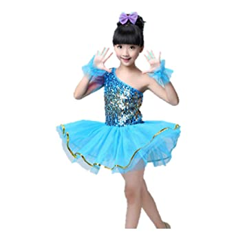 MATISSA Children\u0027s Sequin Dance Costumes Ballet Dresses Skirts Dance wear  Kids Girls 3,15 years