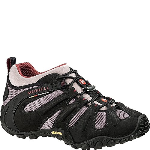 Merrell Mens Chameleon Ii Stretch Black / Tan