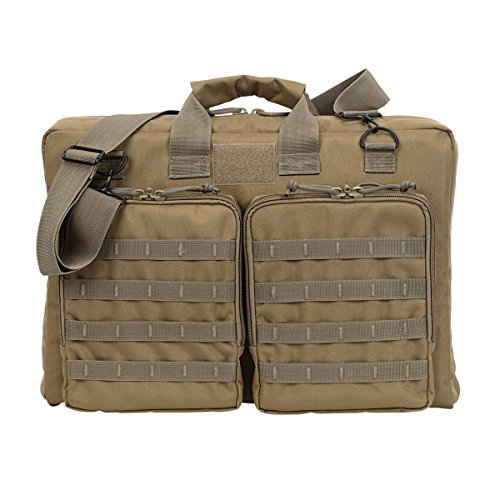 VooDoo Tactical 20-9420007000 Deluxe Terminator Bag, Coyote, One Size (Voodoo Tactical Mens Deluxe Padded Weapons Case)
